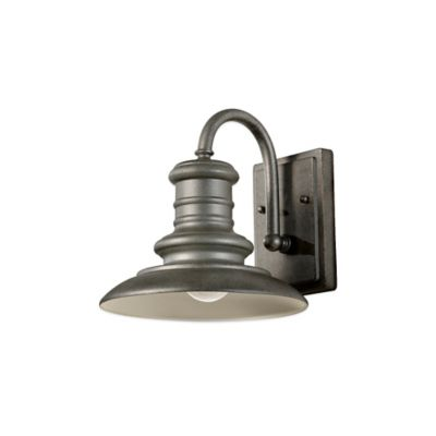 Feiss® Redding Station Outdoor Wall Lantern in Tarnished