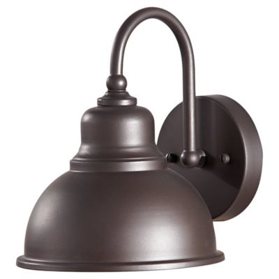 Feiss® Darby Outdoor Wall Lantern in Oil Rubbed Bronze
