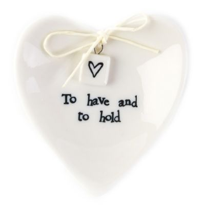"Two's Company® ""To Have And To Hold"" Heart Ring Dish"