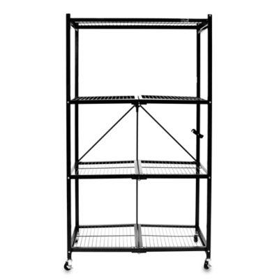 buy cosco174 instant storage 3tier folding shelf in black