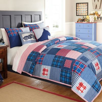 Dylan Twin Quilt Set