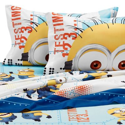 Minions Twin Sheet Set
