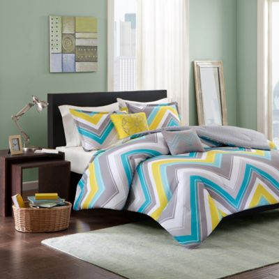 Elise Twin/Twin XL Comforter Set in Blue