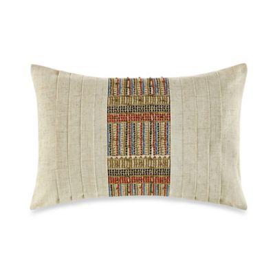 Steve Madden® Lani Oblong Throw Pillow in Tan
