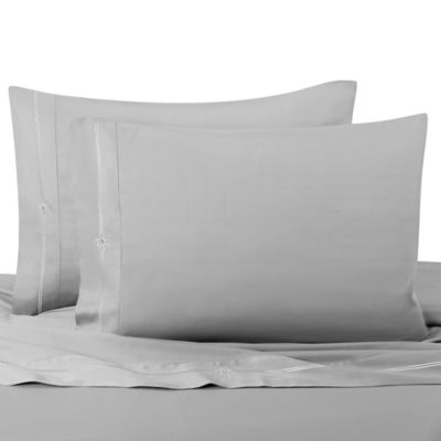 Eros King Sheet Set with Swarovski® Crystal Accents in Grey
