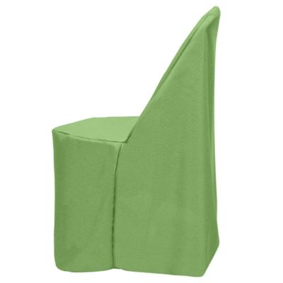 Basic Polyester Cover for Plastic Folding Chair in Sage