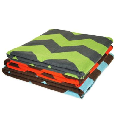 Chevron Throw Blanket Decorative Accessories