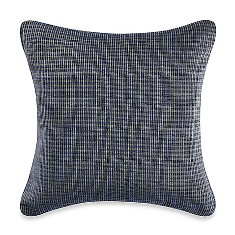 Myop Throw Pillow Covers : MYOP Pathway Square Throw Pillow Cover in Blue - Bed Bath & Beyond