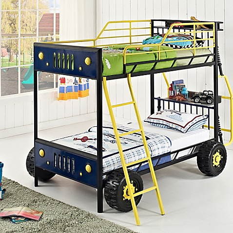 Buy Powell Dune Buggy Car Twin Over Twin Bunk Bed From Bed