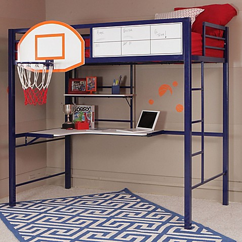 Buy Powell Hoops Basketball Bunk Bed From Bed Bath Amp Beyond
