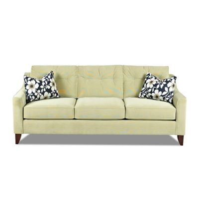 Klaussner Audrina Sofa in Green