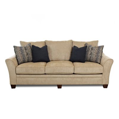 Klaussner Posen Sofa in Brown