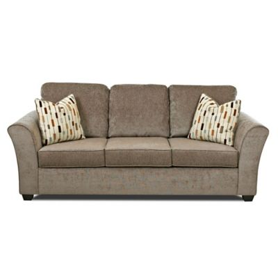 Klaussner Salina Sofa in Brown