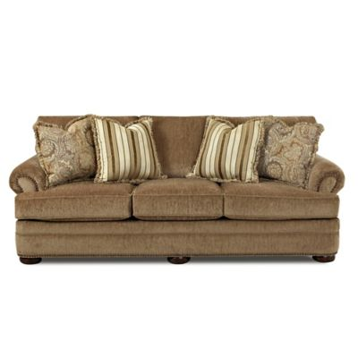 Klaussner Tolbert Sofa in Brown