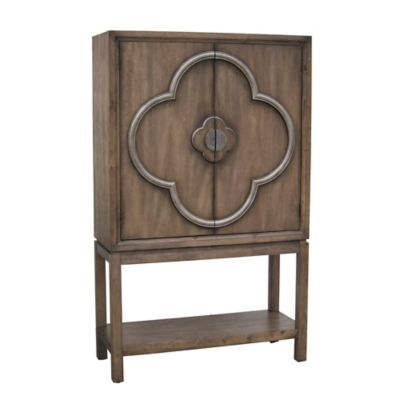 Pulaski Wine Cabinet in Natural Wood