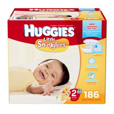 Huggies® Little Snugglers 186-Count Size 2 Diapers