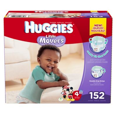 Huggies® Little Movers 152-Count Size 4 Diapers