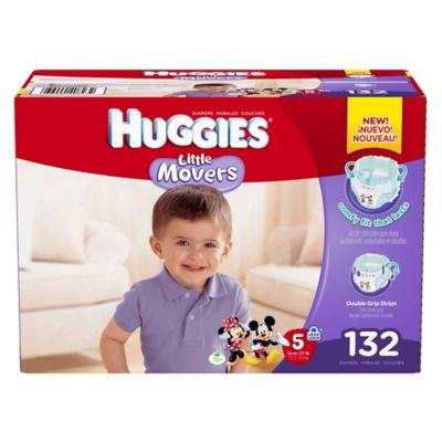 Huggies® Little Movers 132-Count Size 5 Diapers