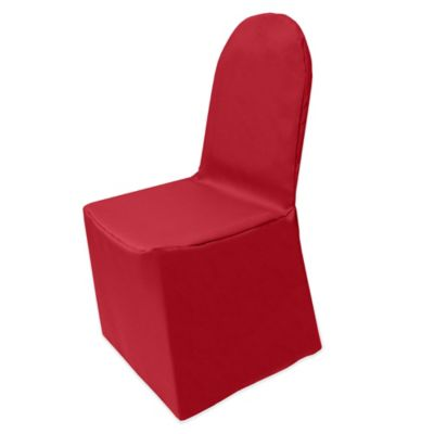 Holiday Red Chair Cover