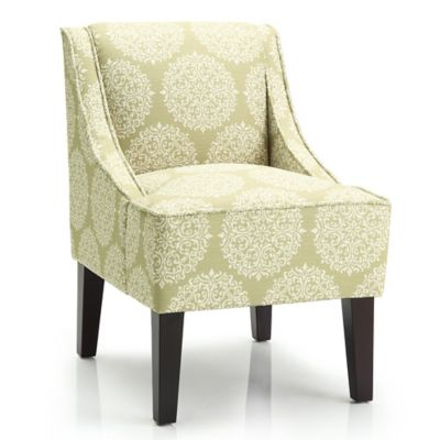 Dwell Home Marlow Accent Chair with Gabrielle Upholstery in Pearl
