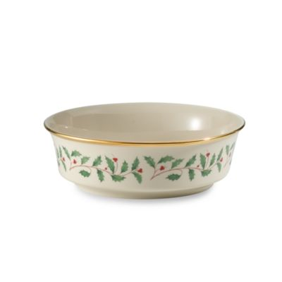 Lenox® Holiday™ Round Serving Bowl