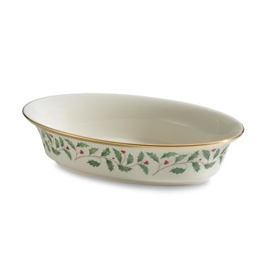 Lenox® Holiday™ Oval Vegetable Bowl