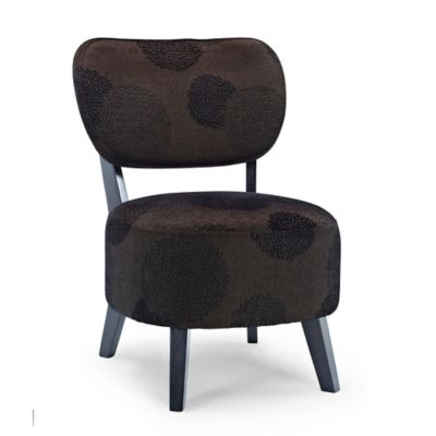 Dwell Home Sphere Accent Chair in Charcoal Sunflower