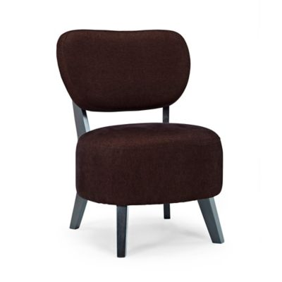 Dwell Home Sphere Accent Chair in Brown