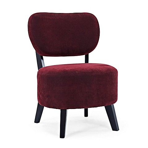 Buy Dwell Home Sphere Accent Chair in Red from Bed Bath
