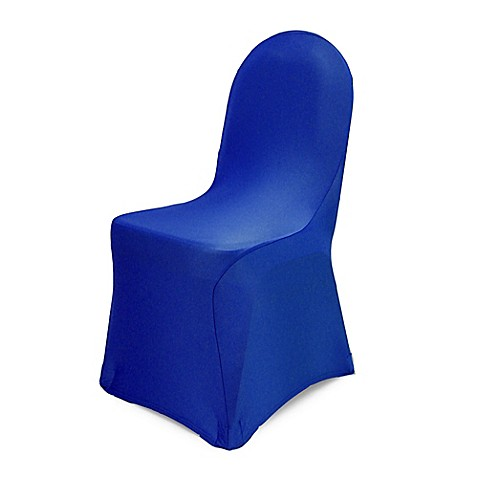 Buy Pizzazz Banquet Chair Cover in Royal Blue from Bed