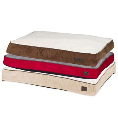 Tall Tails Cushion Comfort Medium Pet Bed in Red