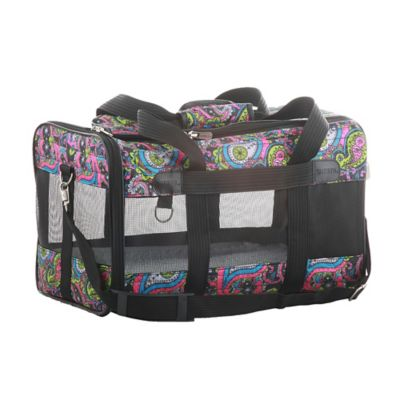 Sherpa Original Deluxe Large Pet Carrier in Paisley