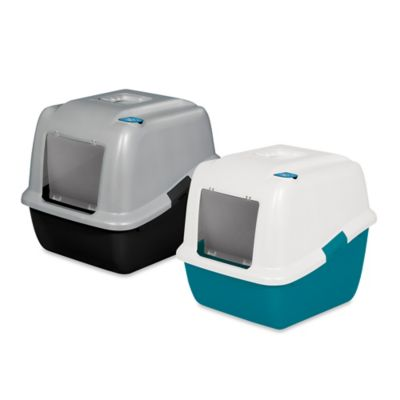 Blue Litter Box
