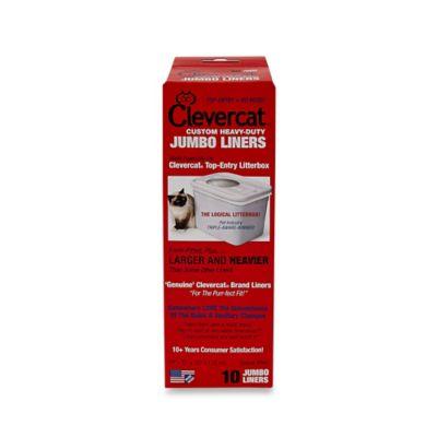 Clevercat® 10-Pack Heavy-Duty Jumbo Liners