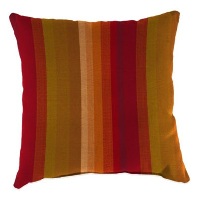 20-Inch Square Outdoor Throw Pillow in Sunbrella® Astoria Sunset