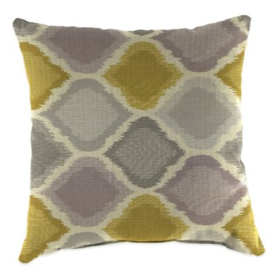 20-Inch Square Outdoor Throw Pillow in Sunbrella® Empire Dawn