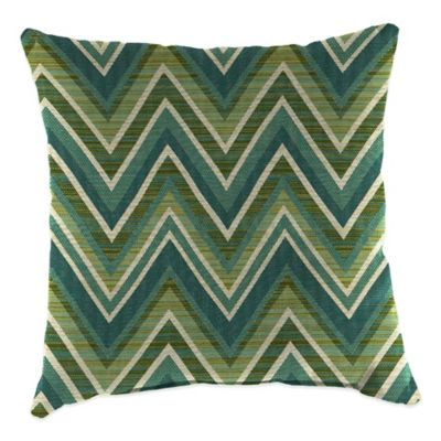 20-Inch Square Outdoor Throw Pillow in Sunbrella® Fischer Lagoon