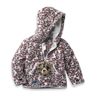 HoOdiePet™ Size 3 - 4T Speedie the Cheetah Hoodie in Pink