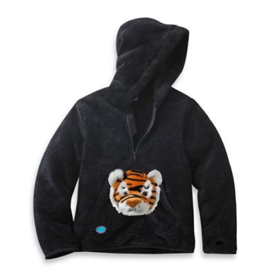 HoOdiePet™ Size 3-4T Clawie the Tiger Hoodie in Black