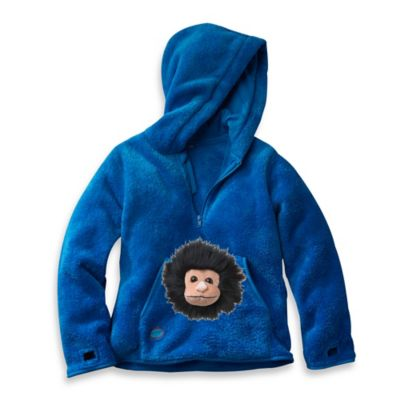 HoOdiePet™ Size 3 - 4T Screamie the Ape Hoodie in Blue