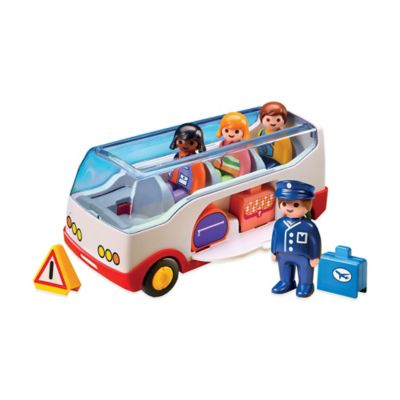 Playmobil® 1.2.3 Airport Shuttle Bus