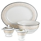 Elegant Scroll Pearl 5-Piece Completer Set