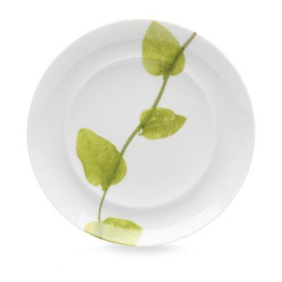 Green Bread Plates