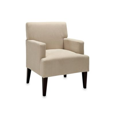 Dwell Home Tux Accent Chair in Ivory
