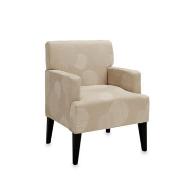 Tux Accent Chair in Ivory