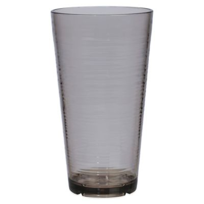 Bark Highball Glass in Smoky Grey
