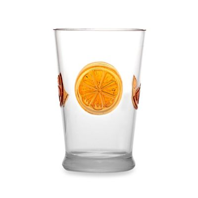 Citrus Medallion Juice Glass