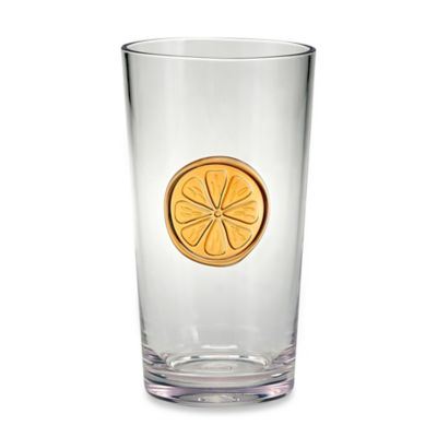 Citrus Medallion Highball Glass