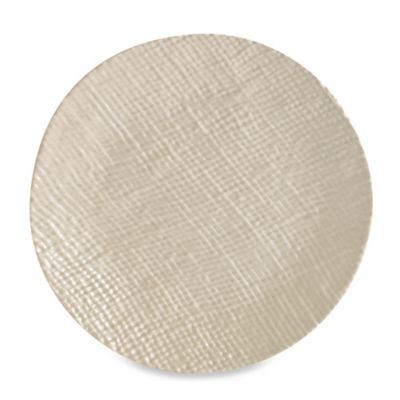 Organic 3D Texture Melamine Dinner Plate in Clay