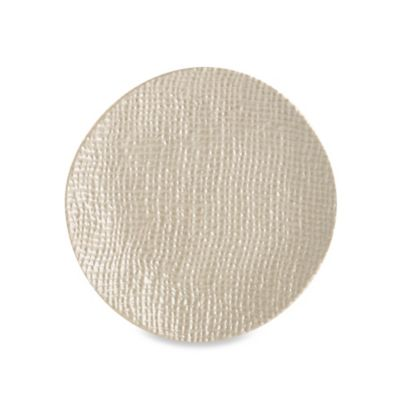 Organic 3D Texture Melamine Salad Plate in Clay